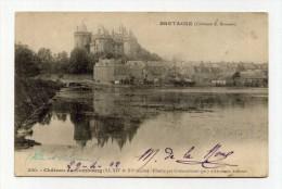 CP , 35 , COMBOURG , Le Château Illustré Par Chateaubriant - Combourg