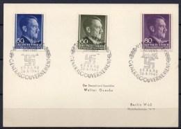 Generalgouvernement - 1943 - Michel N° 110 à 112 - 1939-44: 2ème Guerre Mondiale