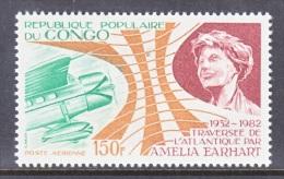 REP. CONGO   C 304  **  AMELIA  EARHART - Democratic Republic Of Congo (1997 - ...)