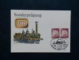 42/416  OBL.  ALLEMAGNE - Trains