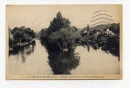 CP , 94 , LA VARENNE SAINT-HILAIRE , Les Bords De La Marne Vus Du Pont De Chennevières - France