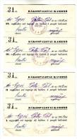 Hungary 1929 Rákospalota Casino Kasino Cotisation De Membre - Casino