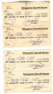 Hungary 1928 Rákospalota Casino Kasino Cotisation De Membre - Casino
