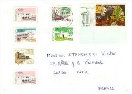 LETTRE PORTUGAL 1989, 11 TIMBRES, LISBOA  Pour La FRANCE /5224 - Marcophilie