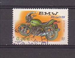 FRANCE / 2002 / Y&T N° 3513 : Moto (BMW R90S) - Choisi - Cachet Rond - France