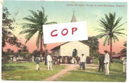 CPA Du Cameroun: Eglise à Duala-Bonaduma Mission BASLER (1910) à L´occasion De L´exposition - Cameroon
