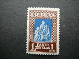 Lietuva Litauen Lituanie Litouwen Lithuania 1933 Lithuanian Child * MH # Mi. 370 A - Lituanie