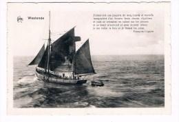 20833 Westende - Zeilboot - Bateau à Voile - Middelkerke