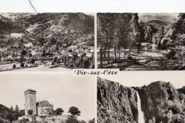 VIIC SUR CERE..... 1960  CARTE MULTIVUE  LE CHATEAU DE PESTEILS - Châteaux D'eau & éoliennes