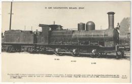 Les Locomotives Belges - Etat - Fleury FF 10 - Machine N° 927 - Matériel