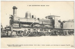 Les Locomotives Belges - Etat - Fleury FF 8 - Machine N° 1633 - Matériel