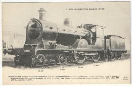Les Locomotives Belges - Etat - Fleury FF 5 - Machine N° 3904 - Matériel