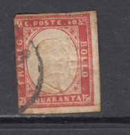 1855 - 1861   YVERT Nº 13 - Sardinien