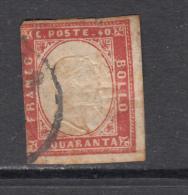 1855 - 1861   YVERT Nº 13 - Sardaigne