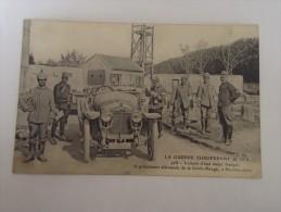 La Guerre Européenne De 1914 - Voiture D'état Major Français Et Prisonniers Allemands - Guerra 1914-18