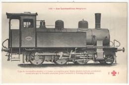 Les Locomotives (Belgique) - FF 144 - Type De Locomotive-tender à 6 Roues Accouplées Pour Trains Mixtes - Matériel