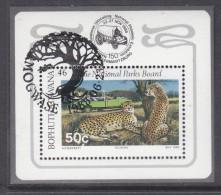 Bophuthatswana: 1988 Tourism Miniature Sheet Used C.t.o. MOGWASE - Bophuthatswana