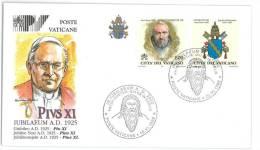 FILATELIA - VATICAN CITY - FDC IUBILAEUM A.D. 2000 - GIUBILEO ANNO 2000 - PIUS XI - COVER NUMBER PV/30 - FDC