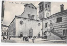 FRIULI VENEZIA GIULIA-UDINE-CIVIDALE DEL FRIULI DUOMO E MUNICIPIO ANIMATA - Andere Steden