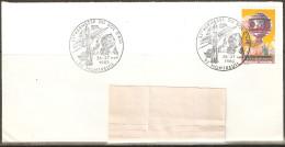 93 MONTREUIL BT 33éme Kermesse Du Bol D'Air Sur Env Blanche 26-27 11 1983 - Postmark Collection (Covers)