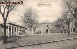HAGETMAU PLACE DE LA REPUBLIQUE 40 LANDES - Hagetmau