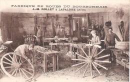 03 - LAPALISSE : FABRIQUE DE ROUES DU BOURBONNAIS .J . M . ROLLET . - Lapalisse