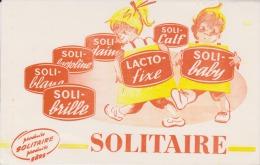 Buvard - SOLITAIRE - Produits Ménagers Maison - Lacto Fixe - - Produits Ménagers