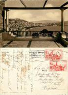 Napoli, Italy Postcard Used Posted To UK 1956 Morocco Maroc Stamp - Morocco