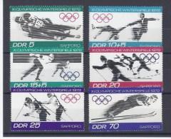 ALLEMAGNE ORIENTALE. 11e Jeux Olympiques D'hiver 1972 à Sapporo - [6] Democratic Republic