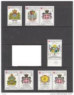 SMOM POSTA AEREA CONVENZIONI POSTALI - BURKINA FASO-HONDURAS-POLONIA-SAN MARINO- VENEZUELA- REP.CENTRAFRICANA - Sovrano Militare Ordine Di Malta