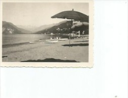 Verbano-Cusio-Ossola  Verbania PALLENZA LIDO HOTEL  LAGO MAGGIORE  FOTOGRAFIA  PEQUEÑA POSTAL  CIRCA 1930  OHL - Italie