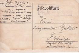 Feldpostkarte - 1. Weltkrieg -Deutsches Reich - Res. Jäg. Btl. Nr. 20, 3. Kp -1915 (4974) - Militaria