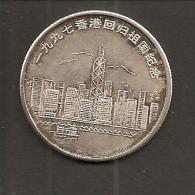CHINA, HONGKONG, Silver, Gute Zustand, 2 Scans + PayPal - Monedas