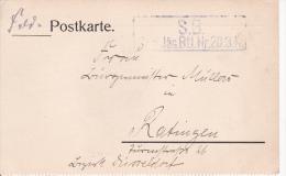 Feldpostkarte - 1. Weltkrieg - Deutsches Reich - Res. Jäg. Btl. Nr. 20, 3 Kp. -1915 (4976) - Militaria