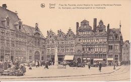 CPA Gand - Place Ste Pharitide, Ancien Hospice St. Laurent Et Marché-aux-Poissons (4982) - Gent