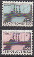 PGL CB351 - TCHECOSLOVAQUIE Yv N°1240/41 ** - Cecoslovacchia