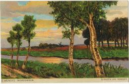 Birken Am Wasser Art Card By S. Wencke - Birkenfeld (Nahe)