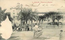 Espagne - Andalucia - Huelva - Plaza De La Merced - état - Huelva