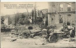 FRANCE 1914 / 1918 –VINTAGE POSTCARD  LA GRANDE GUERRE – CHAMIN DES DAMES – VANDRESSE ET TROYON – RESTES D'UNE SECTION A - France