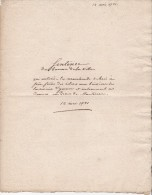 1791  SENTENCE DE TRIBUNAL  YONNE  BOIS  RIVIERE - Documents Historiques