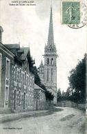 N°38281 -cpa Saint Julien L'Ars- Route De L'Allée De Roses- - Saint Julien L'Ars
