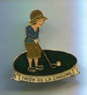 PINS GOLF THION DE LA CHAUME - Golf