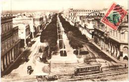 Habana - Paseo Del Prado - Prado Promenade - & Tram - Cuba