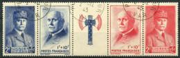 France (1943) N 571A (o) - Usati