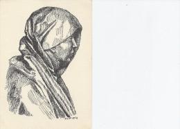 Stefan Viggo Mortensen - Motiv Fra Altertavlen I Slesvig Domkirke.  Denmark  # 03339 - Malerei & Gemälde