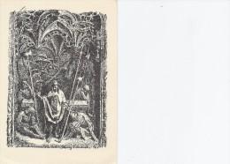 Stefan Viggo Mortensen - Motiv Fra Altertavlen I Slesvig Domkirke.  Denmark  # 03340 - Malerei & Gemälde