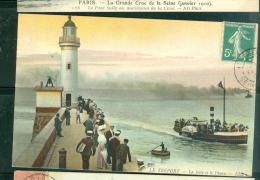 Le TREPORT  -  LA JETEE ET LE PHARE  -  LFO147 - Le Treport