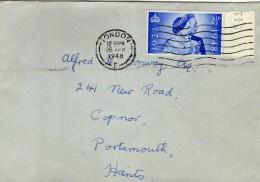 1738 Carta London  1948 Inglaterra - 1902-1951 (Kings)
