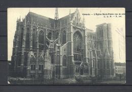 OOSTENDE: L'Eglise Saint-Pierre Vue De Cote, Gelopen Postkaart 1906 (GA13078) - Oostende