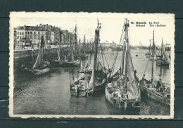 OOSTENDE: Le Port,  Gelopen Postkaart 1937 (GA13169) - Oostende